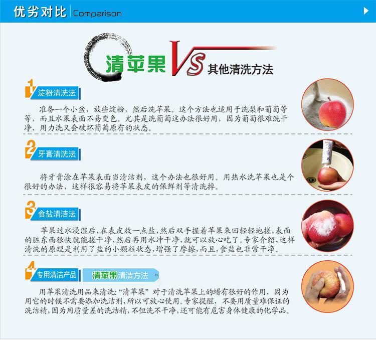 清苹果压缩纳米海绵的优势